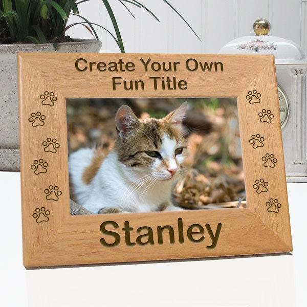 Concorso Design Your Cat : Create your own cat paw picture frame