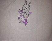 Maleficent towels (custom request)
