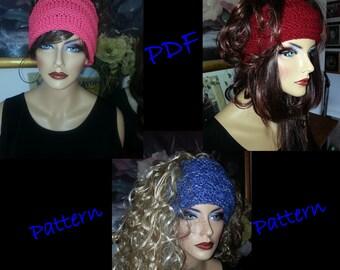 Basic Knitted Earwarmer Headband Headwrap PDF Pattern