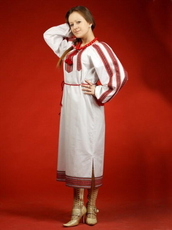 Vestito vyshyvanka abito femminile ucraino abito ricamato for Vestito tradizionale giapponese femminile