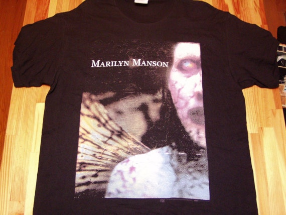 Marilyn Manson Dead to the World Tour T shirt - Licenced Dead Stock w Tags