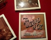 Wizard of Oz Coasters (set of 4)