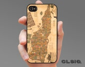 Vintage St Croix US Virgin Islands Map iPhone Case for iPhone 6, iPhone 6 Plus, iPhone 5/5s/5c, or iPhone 4/4s, Samsung Galaxy S5, S4, S3