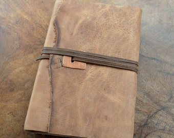 Custom Order Leather Journal Planner Lined Notebook Ledger (418C)
