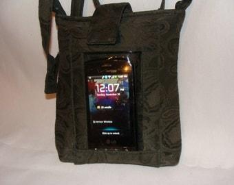 Dark Green Smart Purse for Smart Phones
