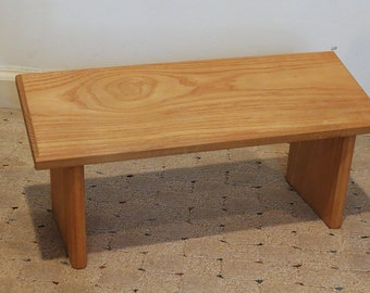 Meditation bench made of poplar
