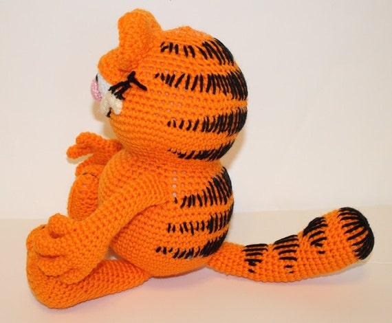 Amigurumi Free Patterns Garfield : PDF PATTERN: Garfield the Cat Crochet Pattern from ...