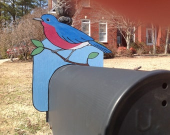 BOX TOPS Bluebird Mail Box Topper