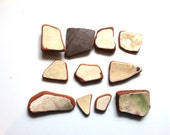 sea glass pottery beach pottery art and craft supply jewelry supplies (330)