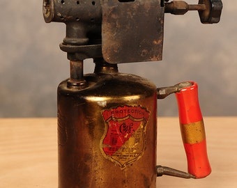 Antique Brass Gasoline Torch