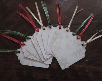 Snowflake Christmas Tags - B2G1 - Buy 2 Get 1 Free