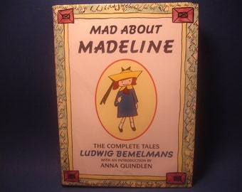Mad About Madeline, The Complete Tales, 1993, HC DJ, Ludwig Bemelmans