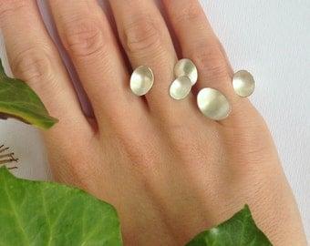 Triple petal ring - mix and match collection