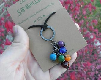 Chakra Necklace, Chakra colors, Chakra Jewelry