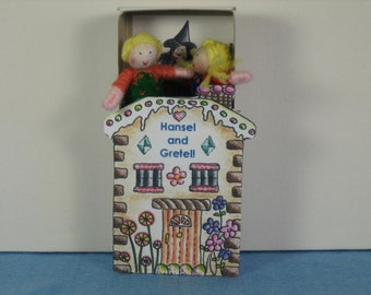 Hansel and Gretel Dolls in a Box