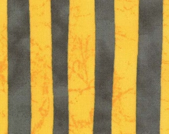 Moda - A Stitch in Color by Malka Dubrawsky Twin Tone Stripes in Yellow Steel 23207-11 by the Yard