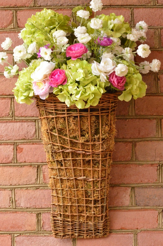 Hydrangea floral spring flowers spring floral arrangement Spring flower arrangements for front door