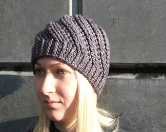 CIRRUS crochet hat pattern