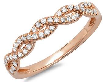 Beautiful 14k Gold Diamond Lady's Ring BXSC22002969