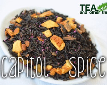 50g Capitol Spice - Loose Black Tea (Hunger Games Inspired)