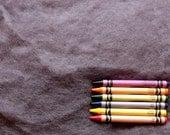MAORI WOOL BATTING - Fog Gray - wool fiber for needle felting and wet felting (approximately 1 ounce) - From Purple Moose Felting