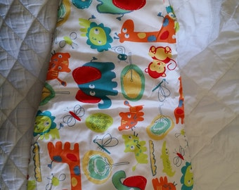 Baby Sleeping bag/ Sack,  Very soft cotton,  Fall Baby Sleep Sack, Winter Baby Sleeping Bag, Size 6-12 month