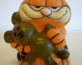 Vintage Garfield Coin Bank