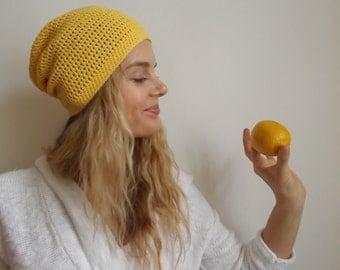 Cotton Hand crochet beanie hat