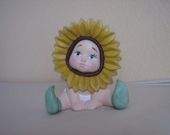Ceramic Sunflower Baby