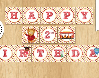 Daniel Tiger Birthday Banner