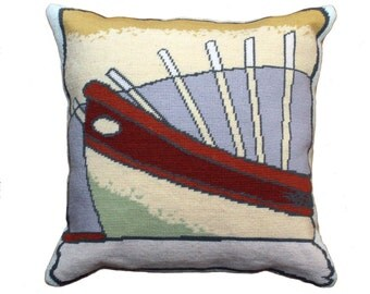 Boat Vignette Tapestry Chart Download