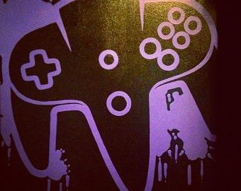 Control Freak Video Game Art