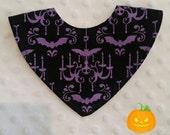Spooky Chandelier Bandana Dribble Bib
