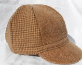 Cycling Cap, Wool, 8 Panel, Size Lg/Xl