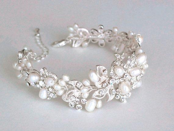 bridal bracelet bridal accessories wedding by
