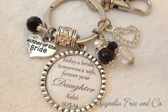 Mother Daughter Wedding Gifts: MOTHER Of The BRIDE, Personalized, Forever Your Daughter