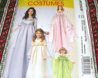 McCalls 5906 Misses Princess Costume  S-XLG Uncut