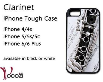 Clarinet iPhone 4 iPhone 5 iPhone 6Tough Case -  iPhone 4/4s  iPhone 5/5s/5c iPhone 6 Plus