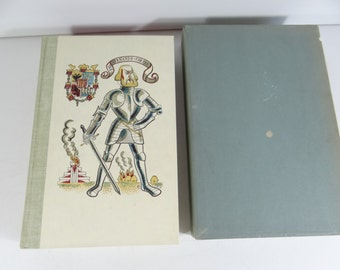 1949 Illustrated Hardcover Book Prescott The Conquest of Mexico -  Heritage Club