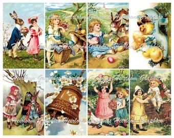 Easter Digital Download 8 Vintage Easter Holiday Download