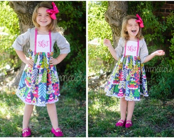 Sophie Dress PDF Pattern instant download sizes 1/2 to 14