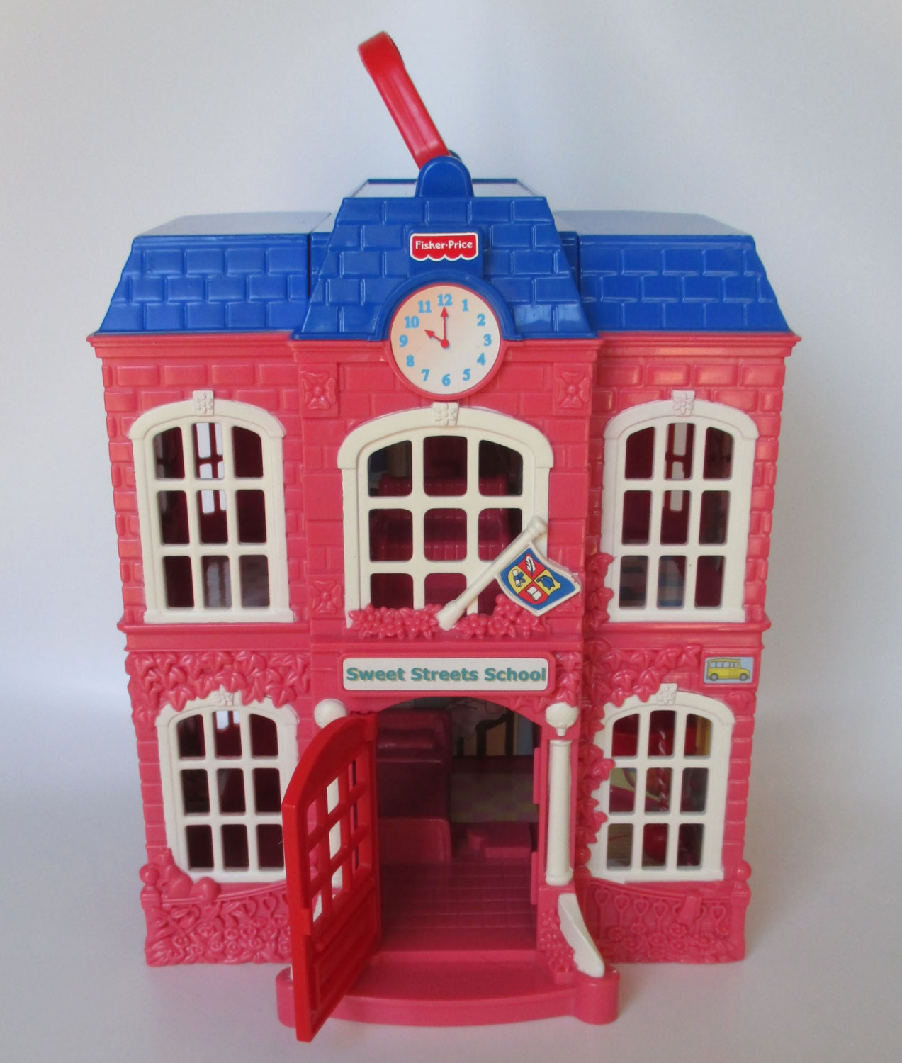 Dollhouse Furniture Discount Fisher Price Year Loving: Dollhouse Fisher Price Sweet Streets School House