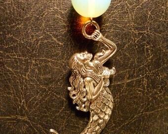 Opalite Bubble Mermaid Undersea Depths Necklace