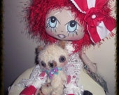Misty..Collectable Cloth Art Doll.