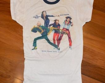 1974 The EDGAR WINTER GROUP vintage concert tour rare original rock t-shirt Medium/Large 70s 1970s
