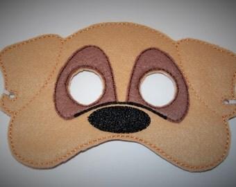 Felt Dog Mask
