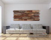 Wood wall art made of old reclaimed barnwood, Different Sizes Available.