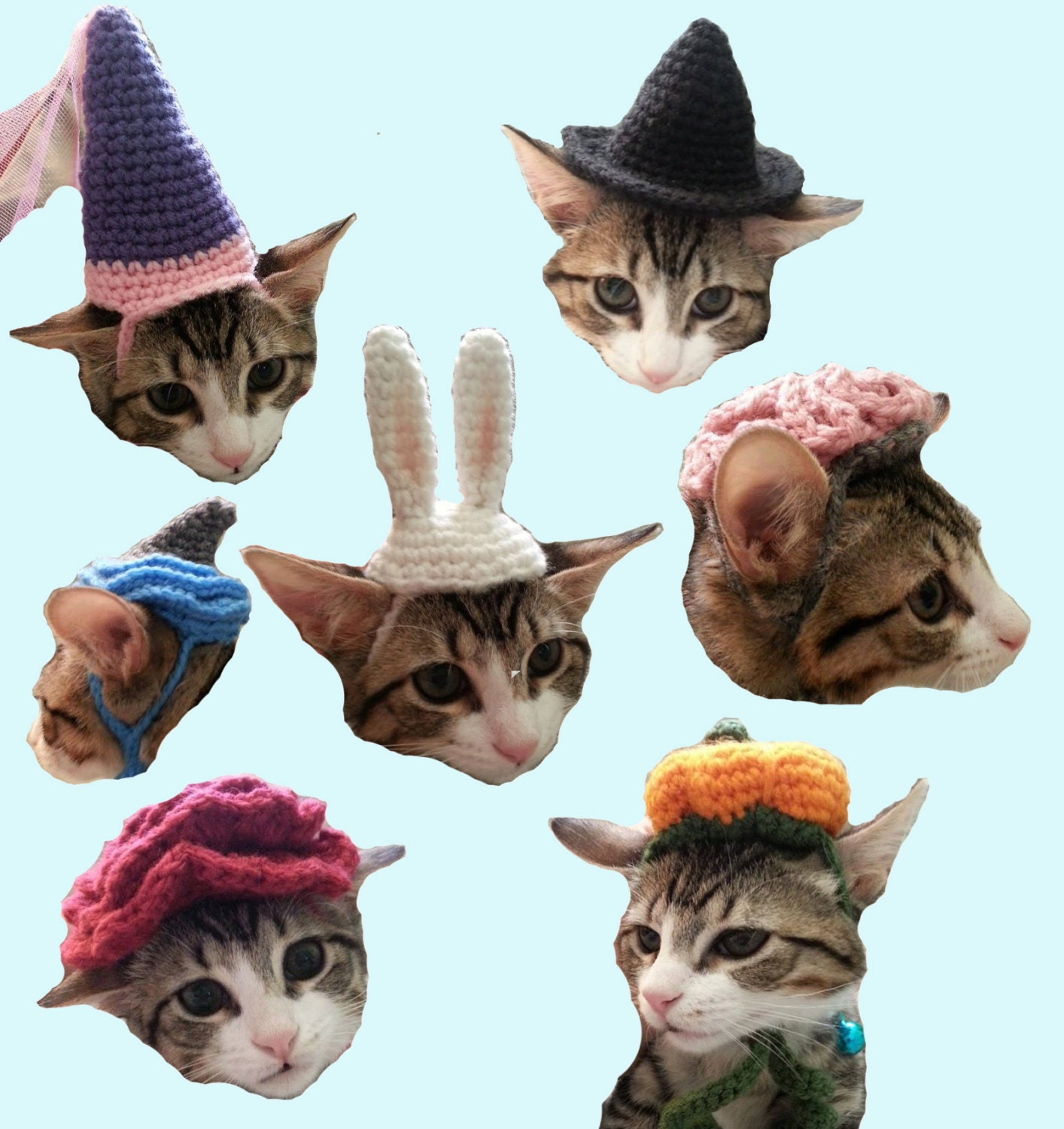 7 cat hat patterns halloween costume brain pumpkin witch zoom bankloansurffo Image collections