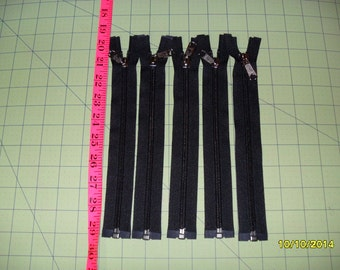 YKK Nylon coil SEPARATING Zippers - 5mm across coil - VARIOUS Sizes - Large Quantities Available