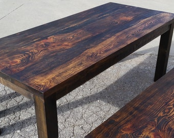 The Knotty Pine Dining Set